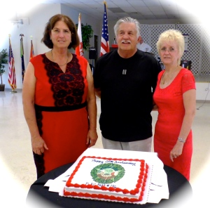 Department of FL Commander Pam Hoback Post #196 Commander Richard Bozek Department of FL Chapter President Ursula Stetz